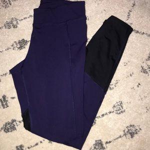 Purple Champion Workout Leggings